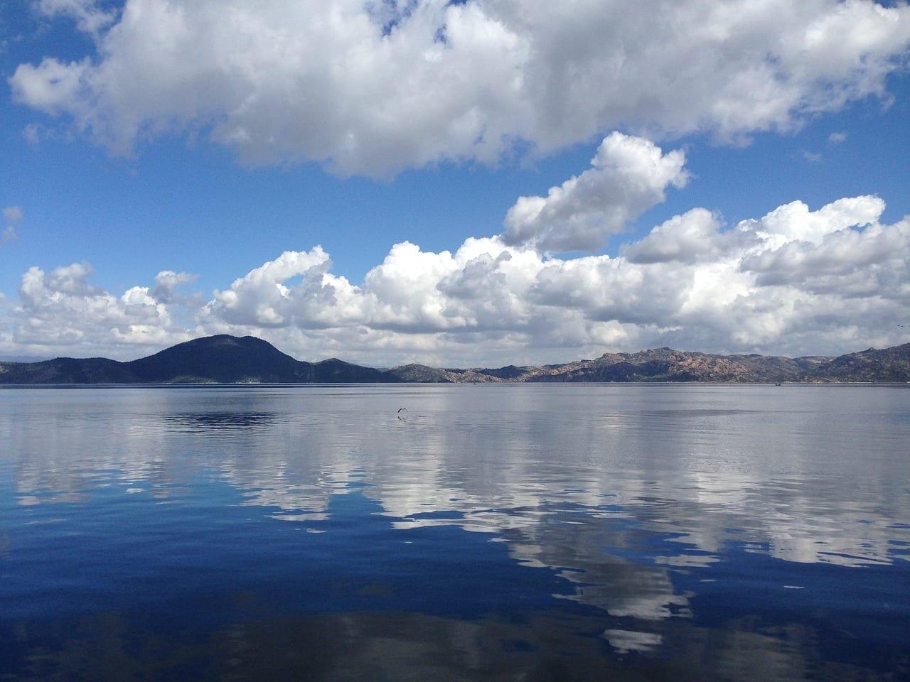 Lago Bafa Didim Latmos Turquía