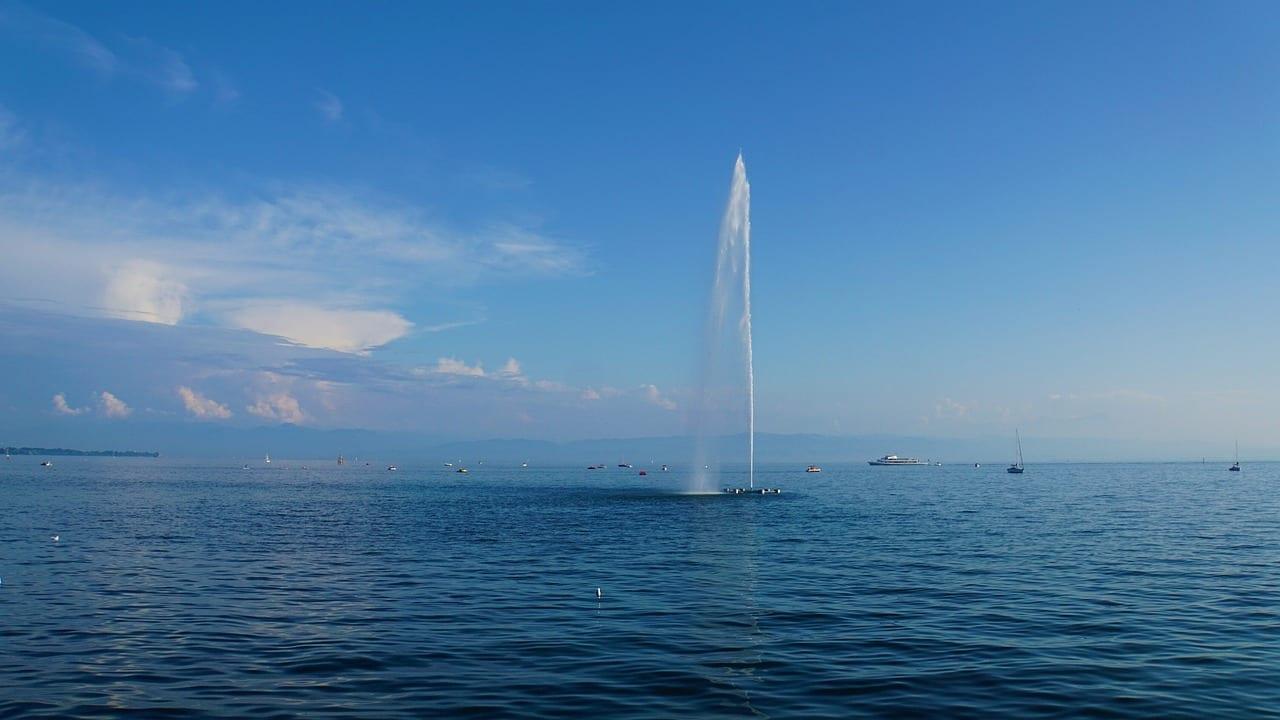Lago De Constanza Friedrichshafen El Agua Alemania