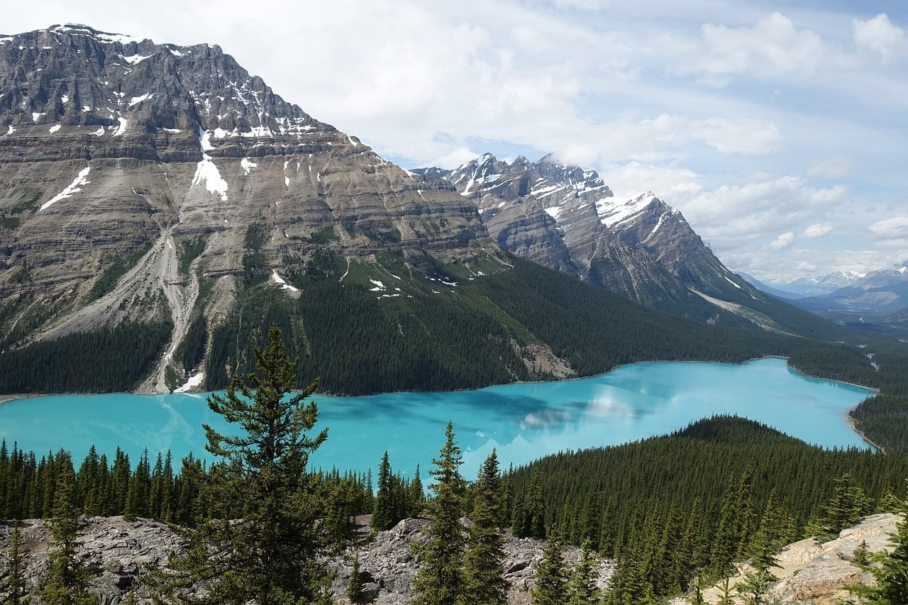 Lago Jasper Banff Canadá