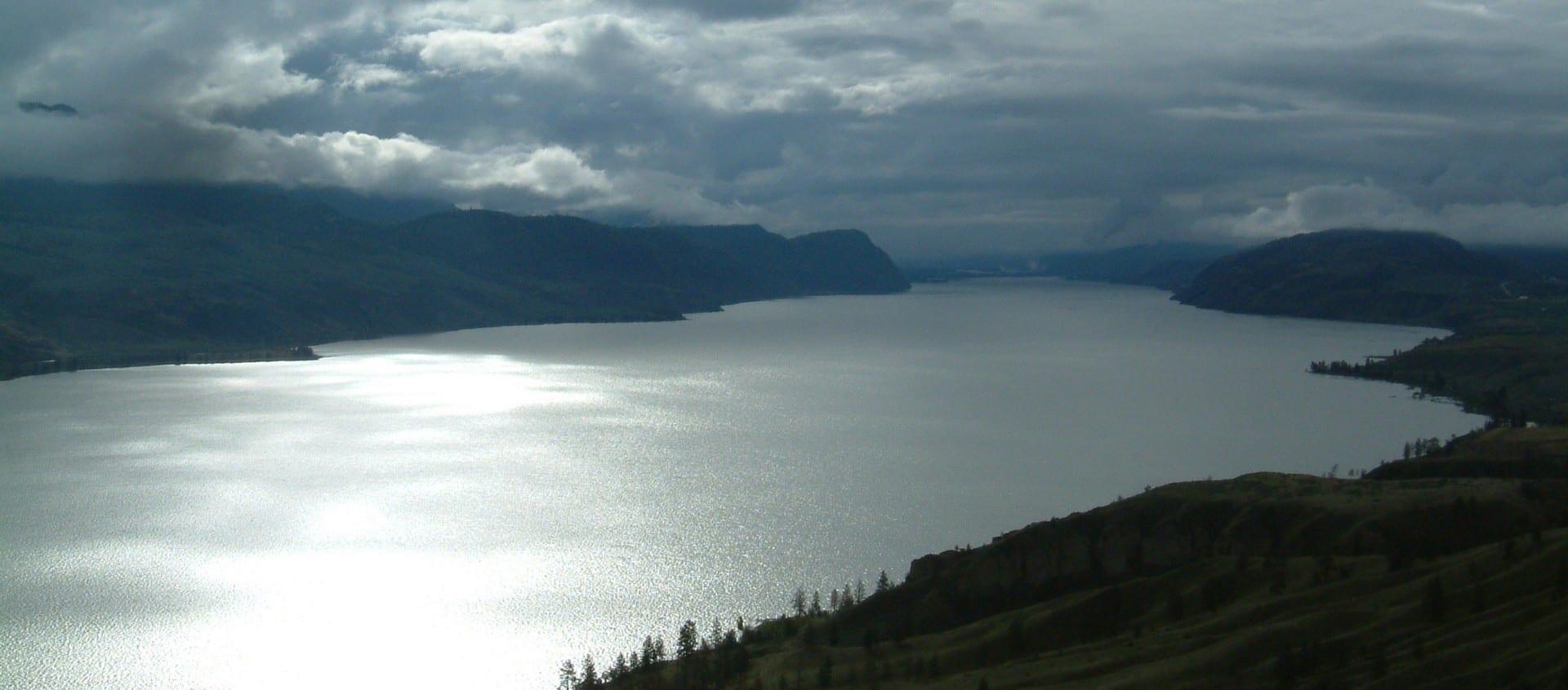 Lago Kamloops Kamloops Canadá
