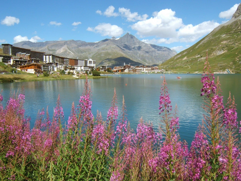 Lago Tignes Tignes Francia