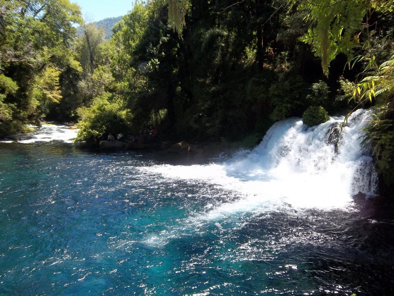 Las cascadas de Caburgua. Pucón Chile