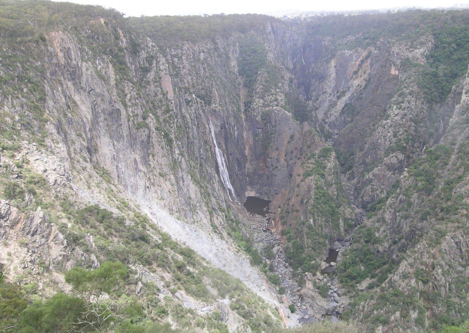 Las cataratas Wollombi y Chandler Armidale Australia