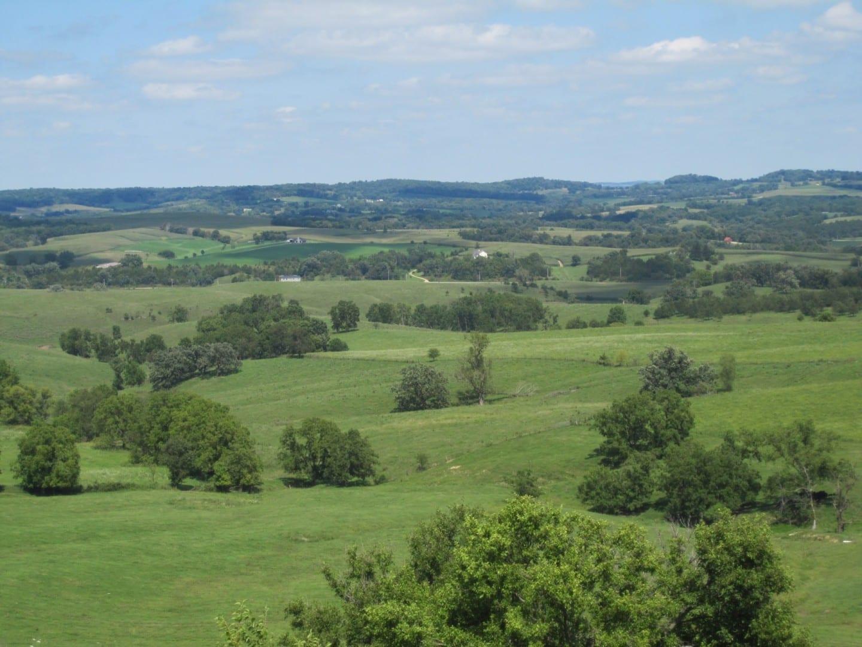 Las colinas del noroeste de Illinois Galena IL Estados Unidos