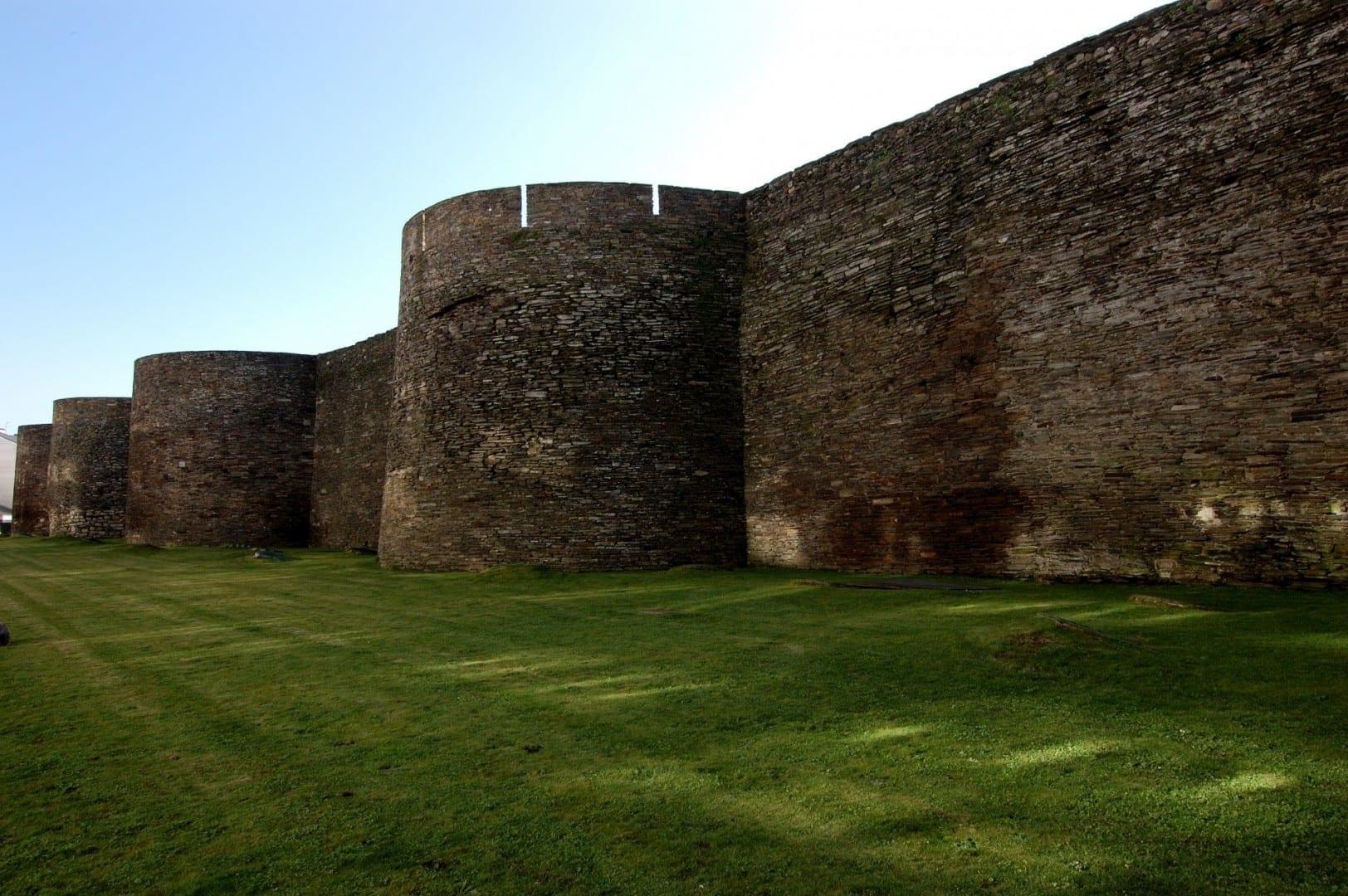Las murallas romanas de Lugo Lugo España