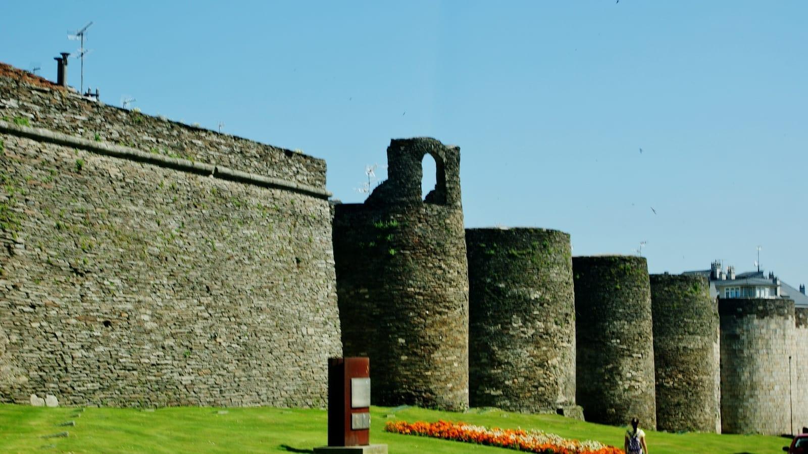 Las murallas romanas Lugo España