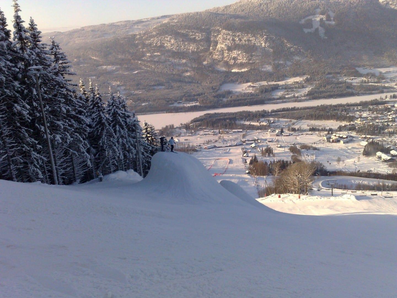 Las pistas de Hafjell en Lillehammer Lillehammer Noruega