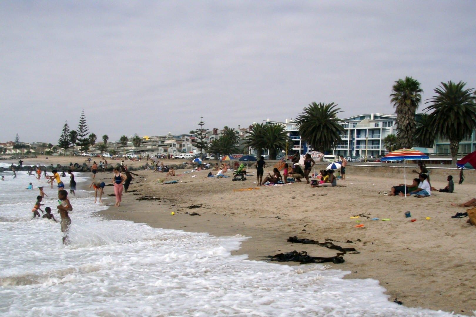Las playas son una de las principales atracciones de Swakopmund... Swakopmund Namibia