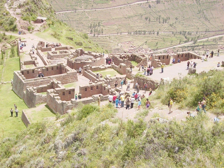 Las ruinas de Pisac Pisac Perú