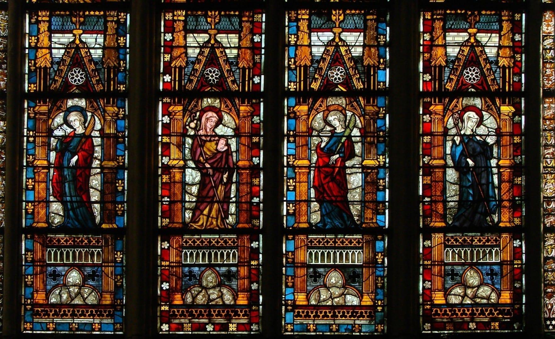 Las vidrieras de la Catedral Troyes Francia