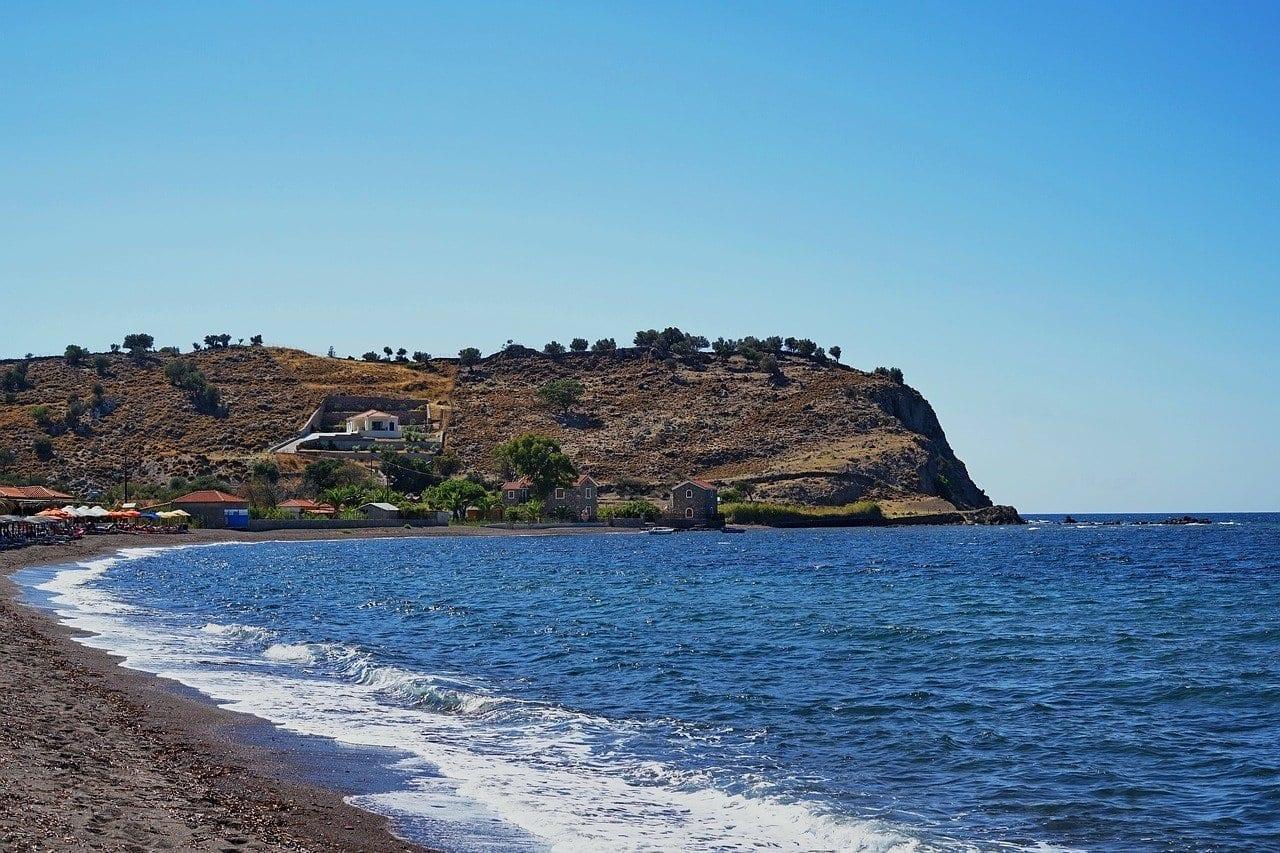 Lesbos Lesvos Isla Grecia