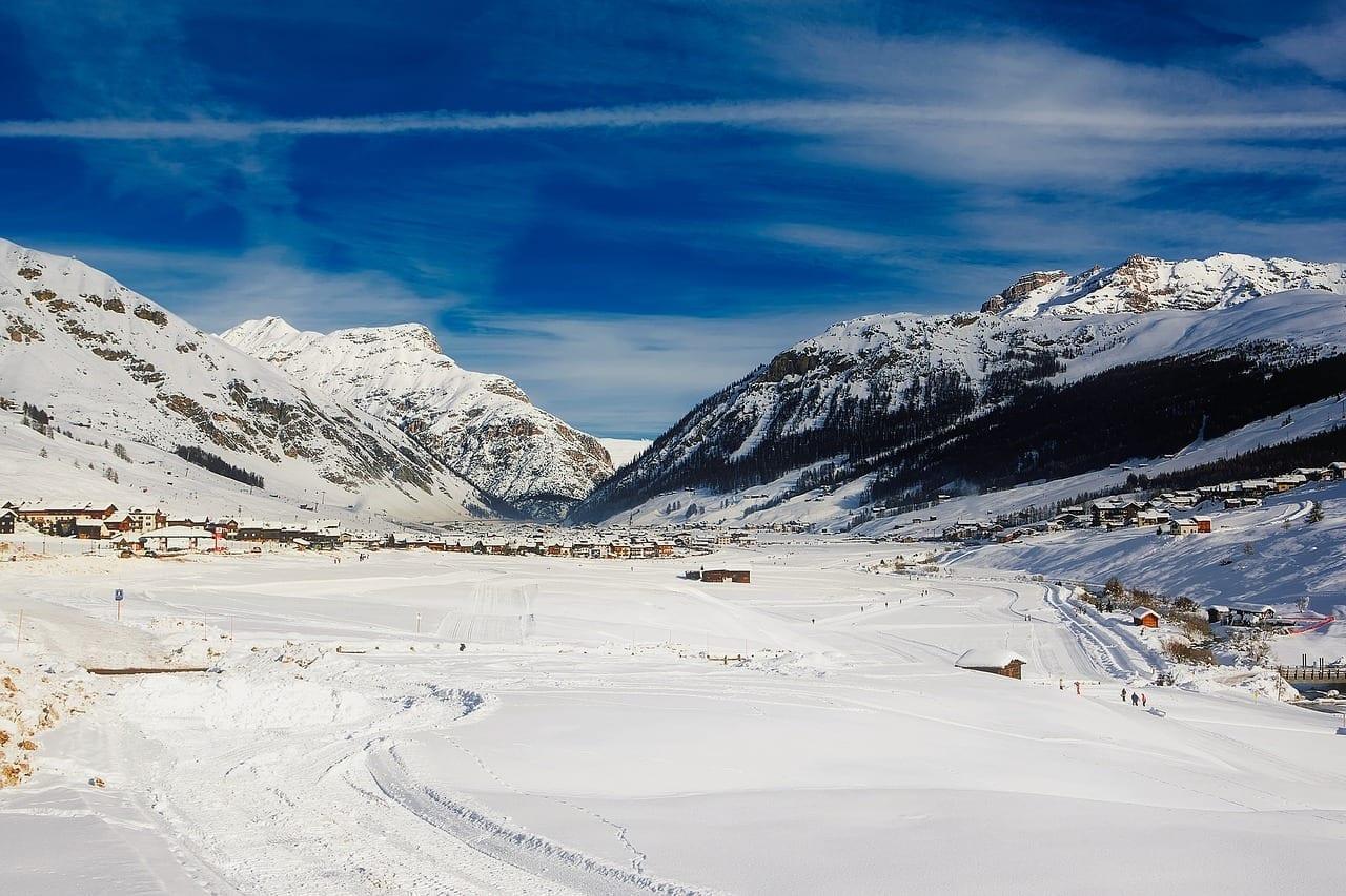 Livigno Italia Alpes Italia