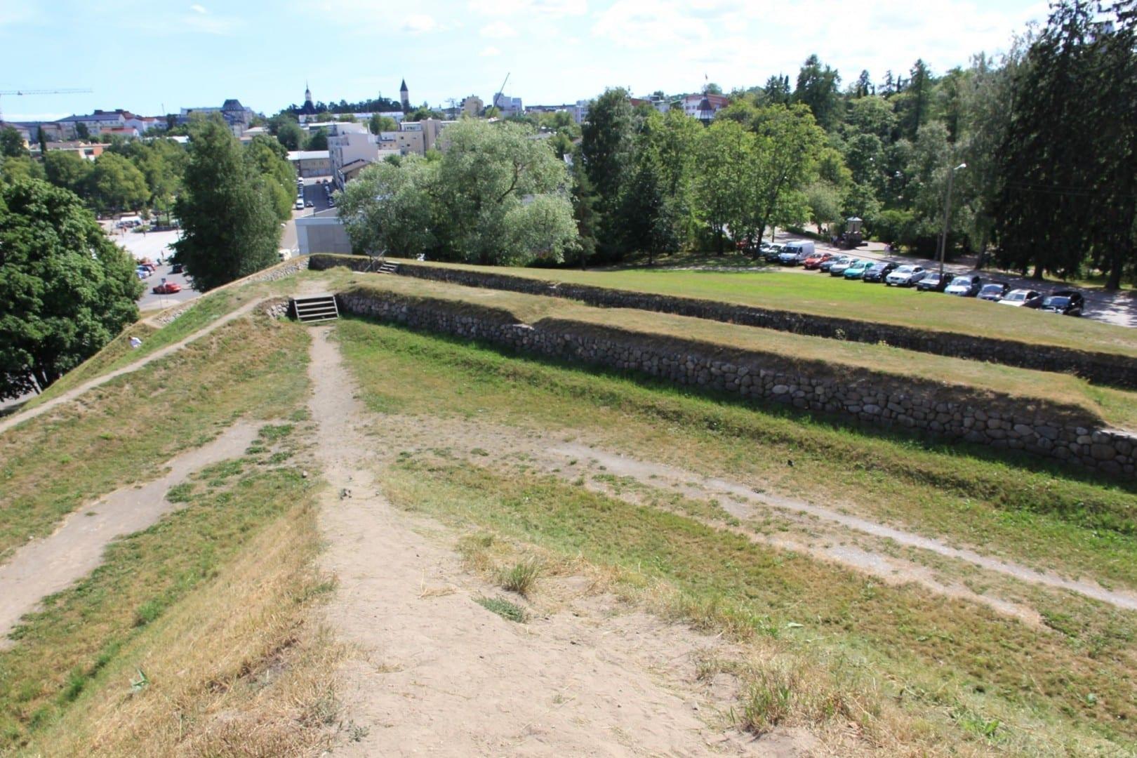 Los muros de la fortaleza de Lappeenranta Lappeenranta Finlandia