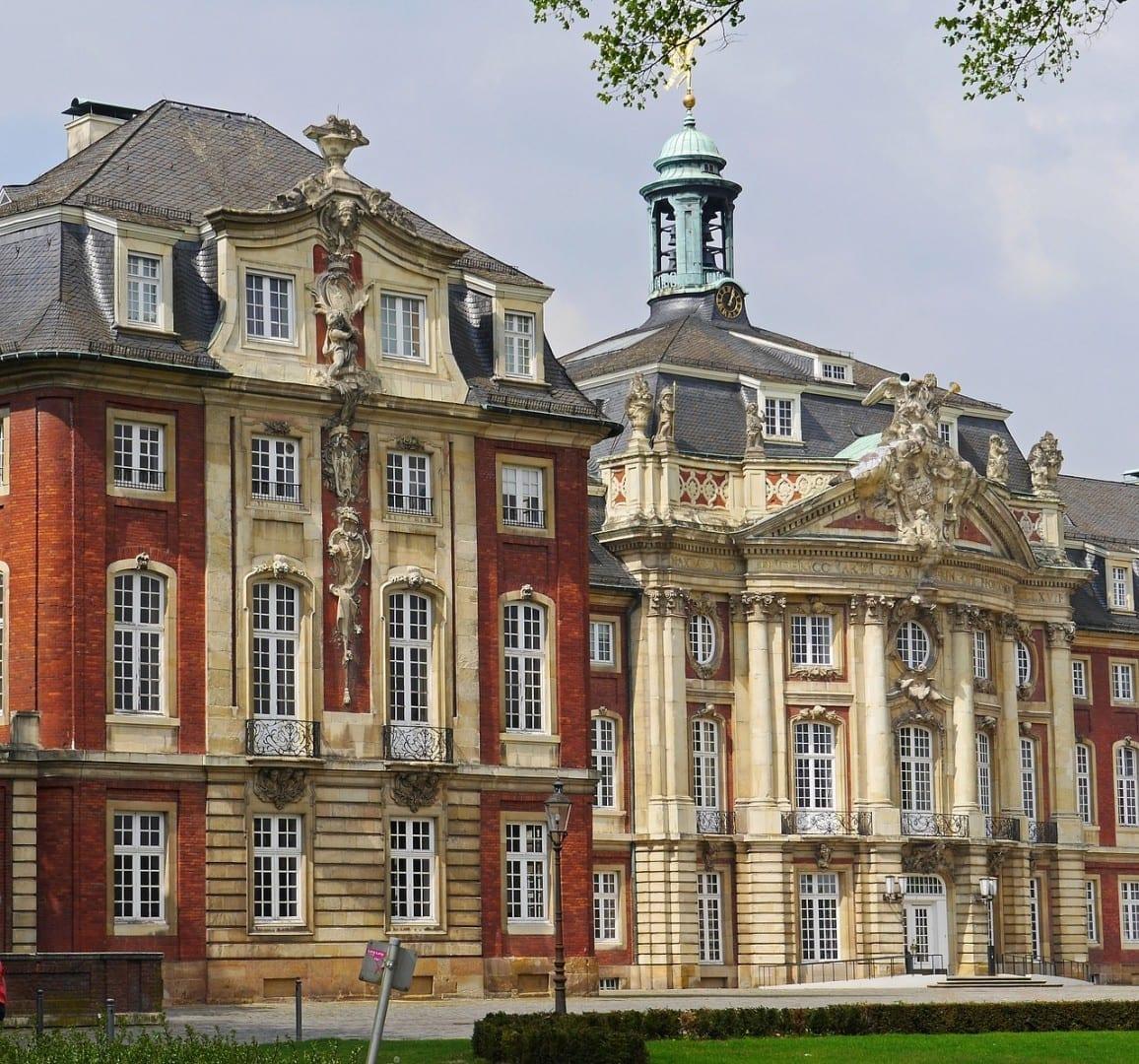 Münster Westfalen Castillo Alemania