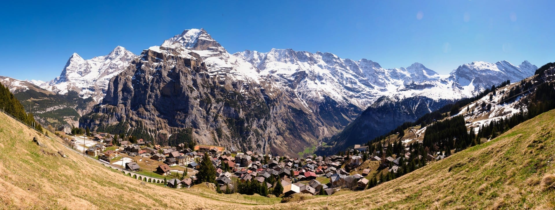 Mürren Vista Mürren - Schilthorn Suiza