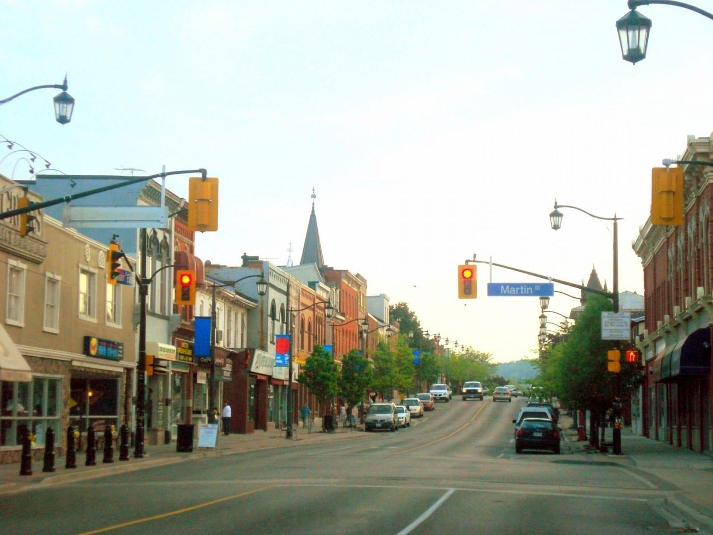 Main St. Downtown Milton Milton Canadá