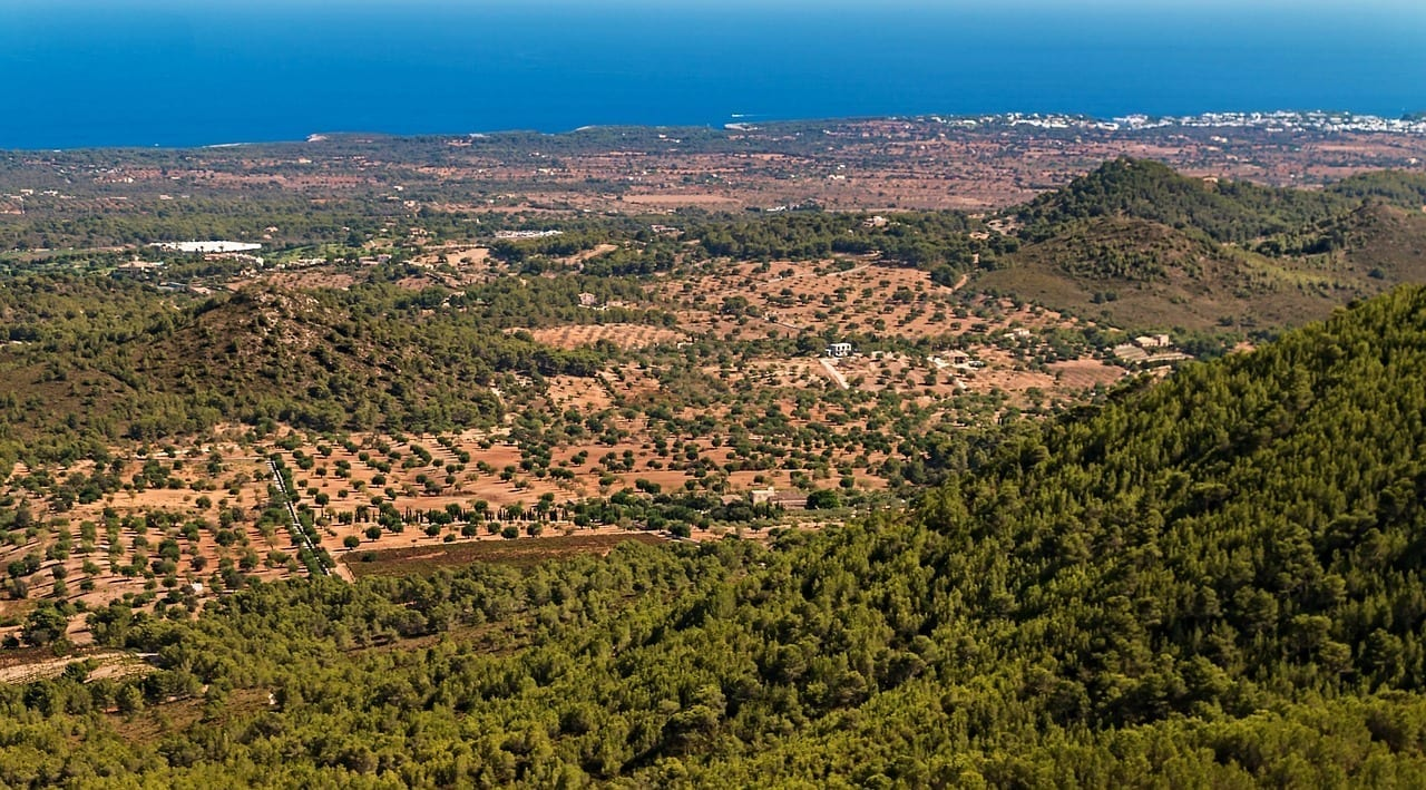 Mallorca Santuario De Sant Salvador San Salvador Mallorca El Salvador