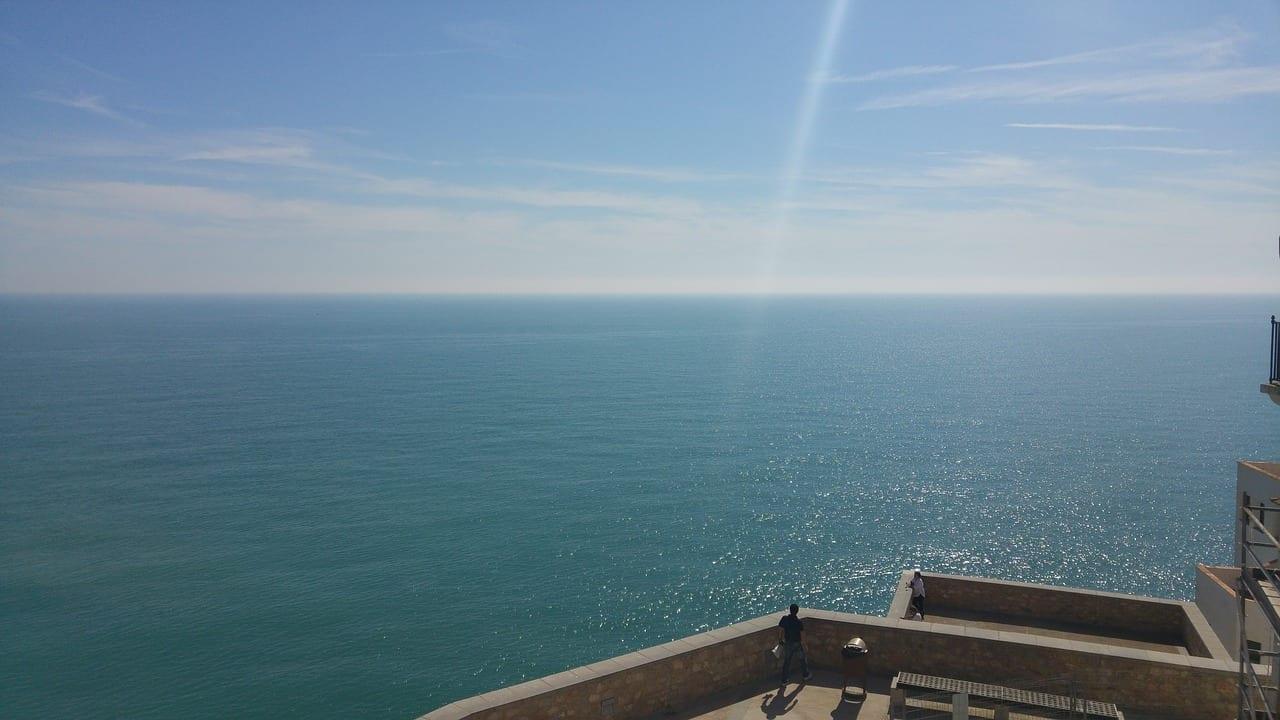 Mar Peñiscola Vistas España