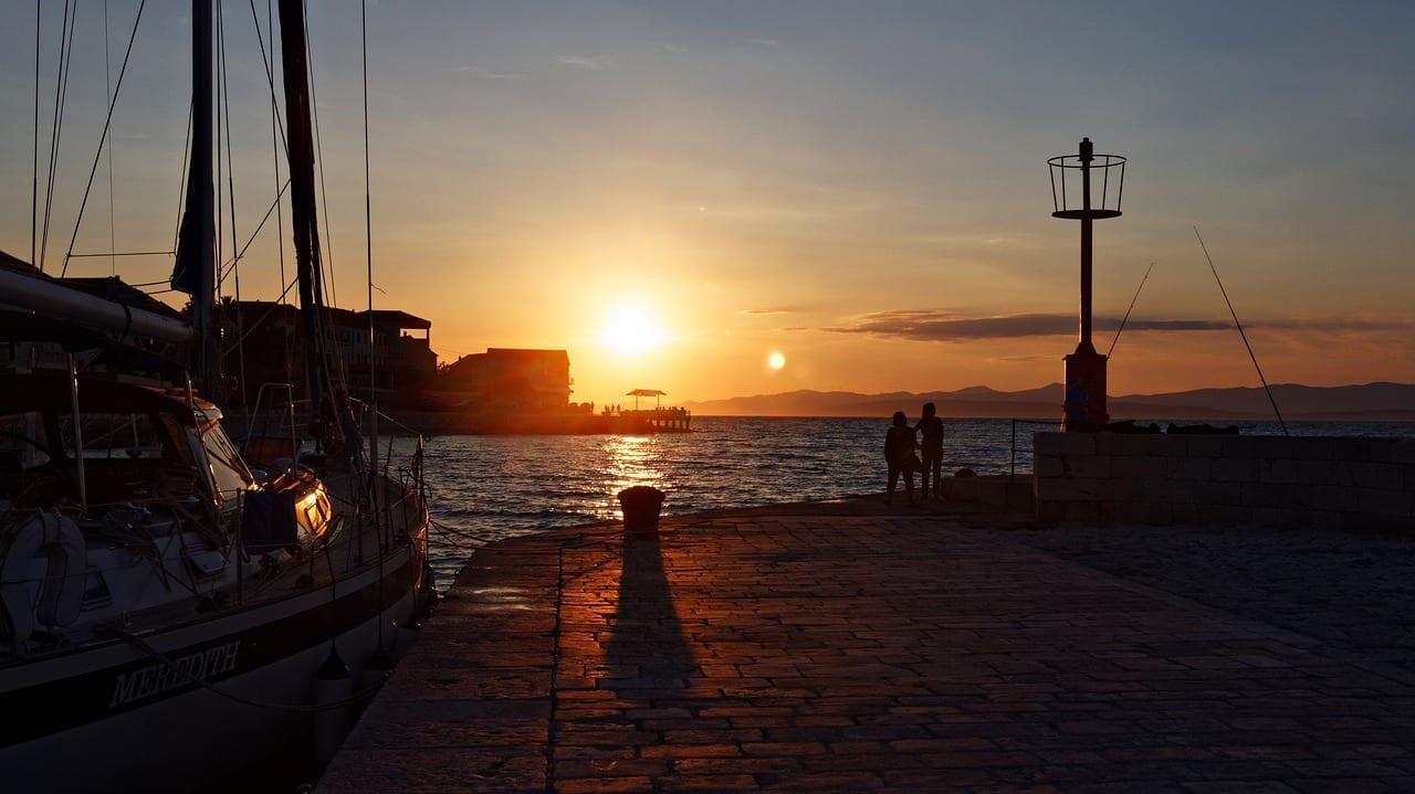 Mar Puerto Hvar Croacia