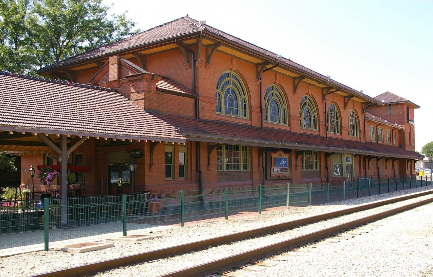 Martini's se encuentra en la antigua estación de tren. Peoria IL Estados Unidos