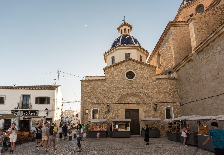 Mercado de artesanos Altea España