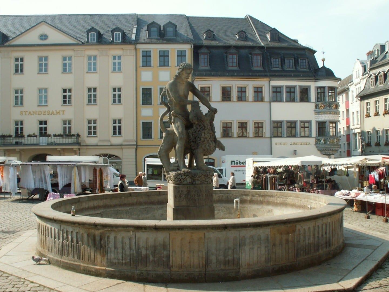 Mercado de Gera Gera Alemania