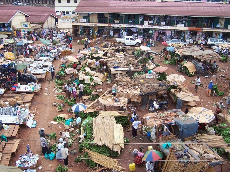 Mercado de Kampala Kampala Uganda