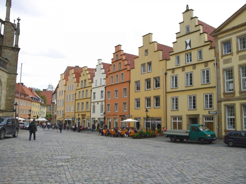 Mercado de Osnabrück Osnabrük Alemania