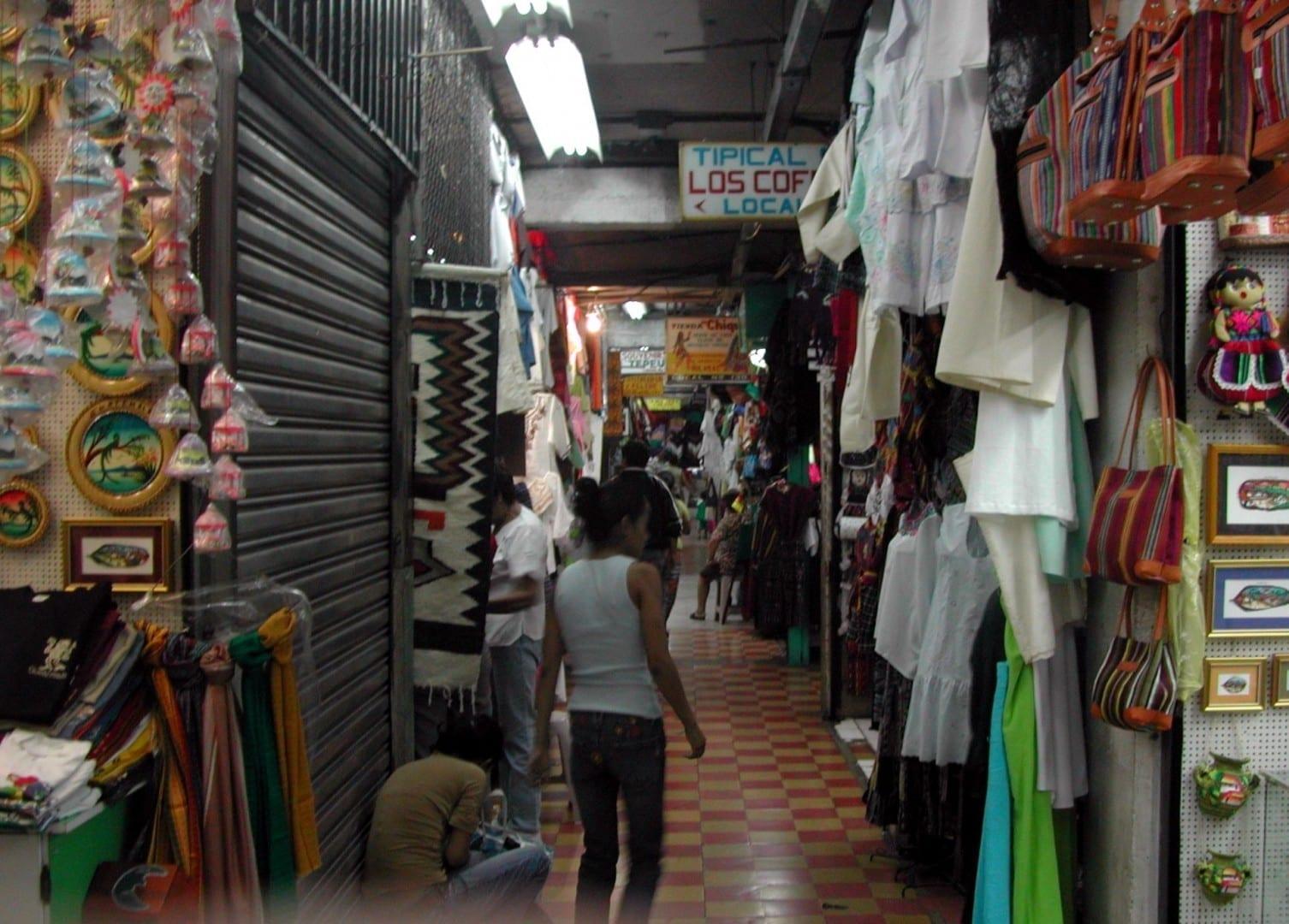 Mercado de souvenirs. Ciudad de Guatemala Guatemala