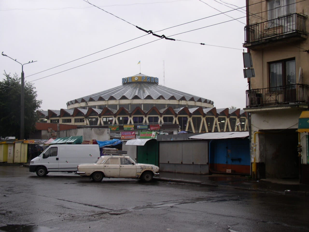 Mercado Ivano-Frankovsk Ucrania