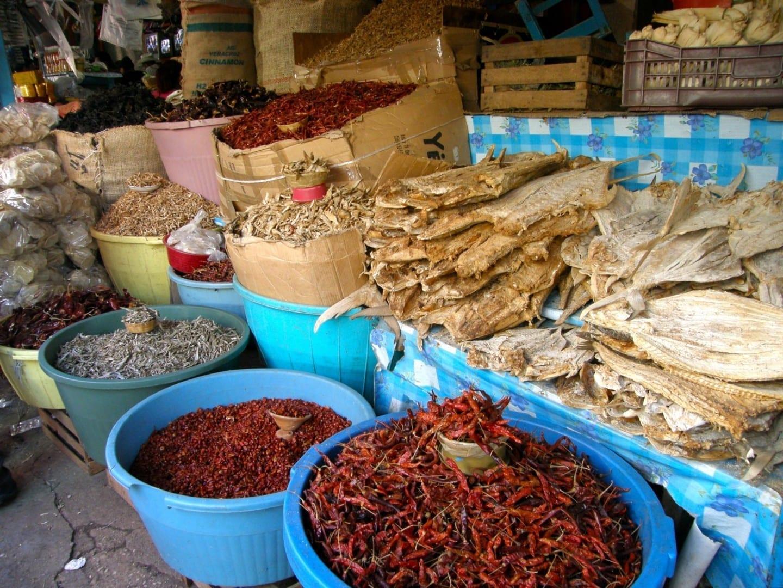 Mercado José Castillo Tielemans San Cristobal de las casas México