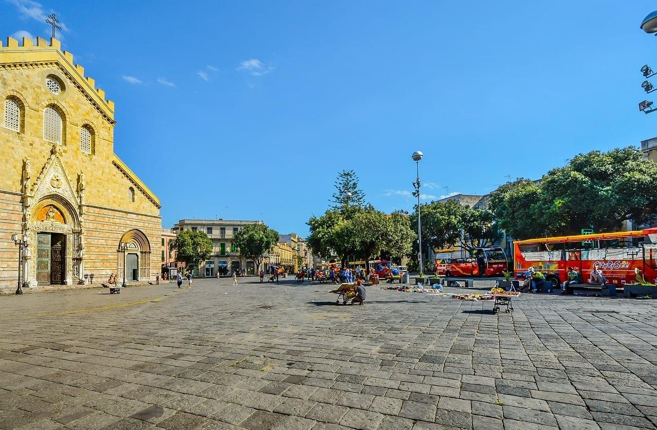 Messina Cuadrados Sicilia Italia