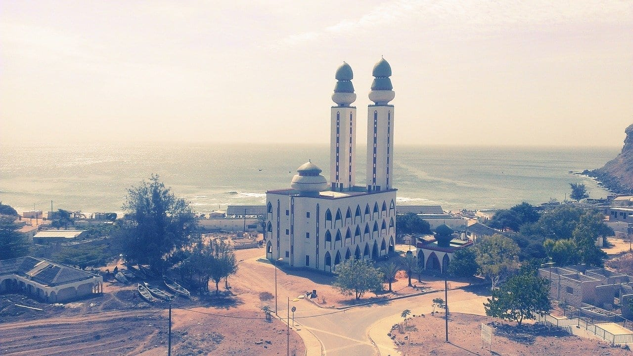 Mezquita De Pescador Dakar Senegal Senegal