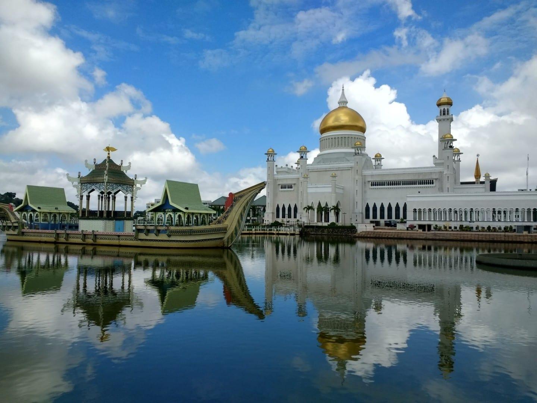 Mezquita Omar Ali Saifuddien Bandar Seri Begawan Brunei