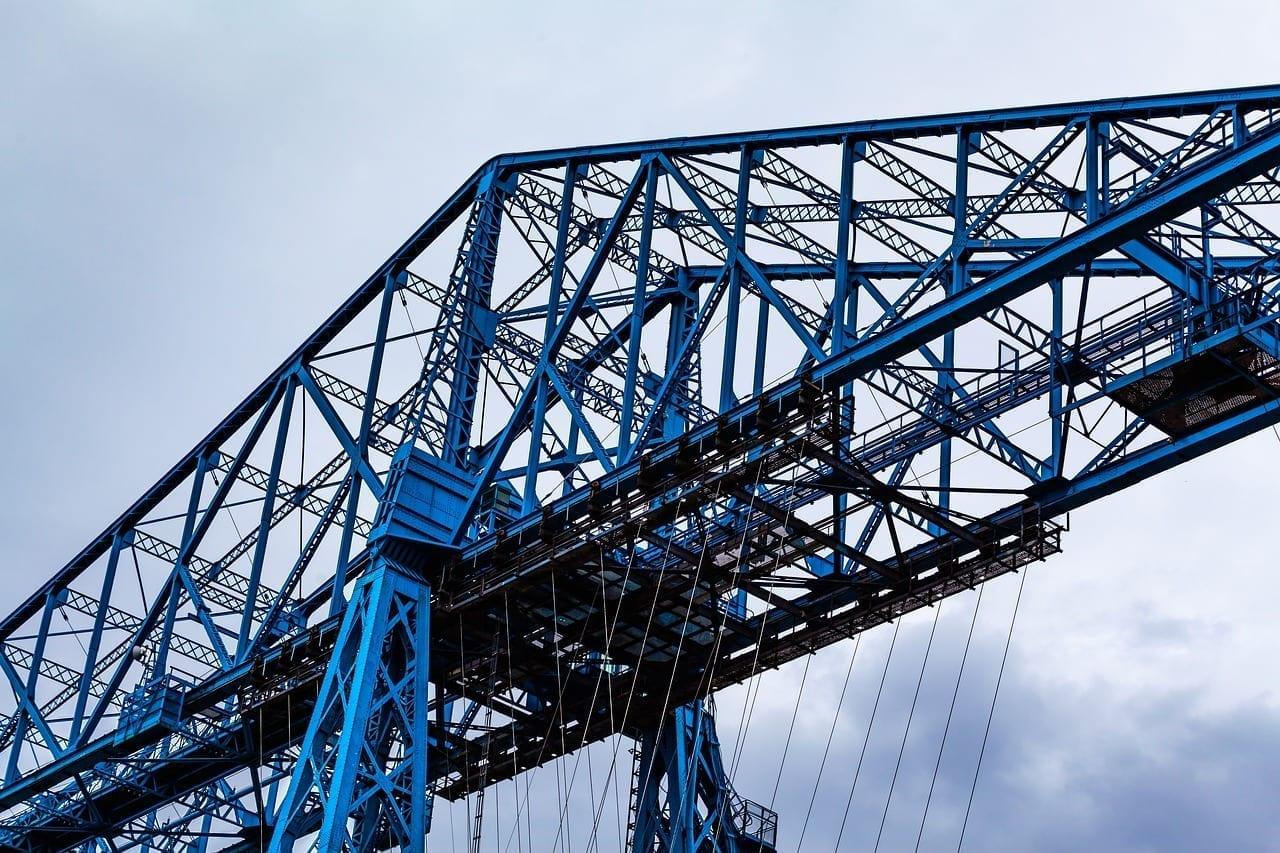 Middlesbrough Puente Transportador Tees De Puente Transportador Puente Reino Unido