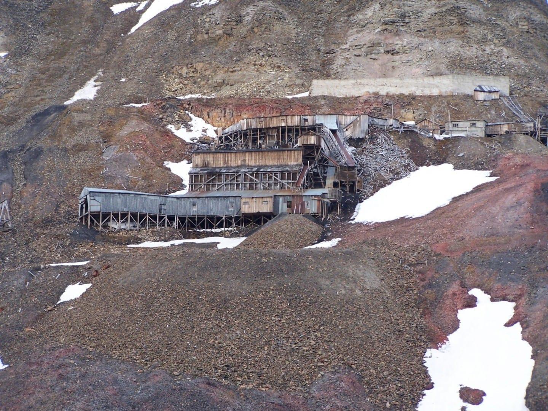 Mina 2b Longyearbyen Noruega