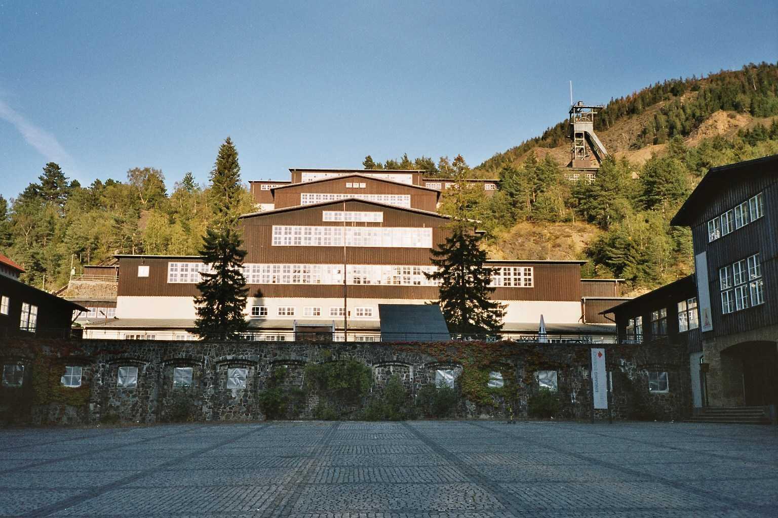 Mina de visitantes de Rammelsberg Goslar Alemania
