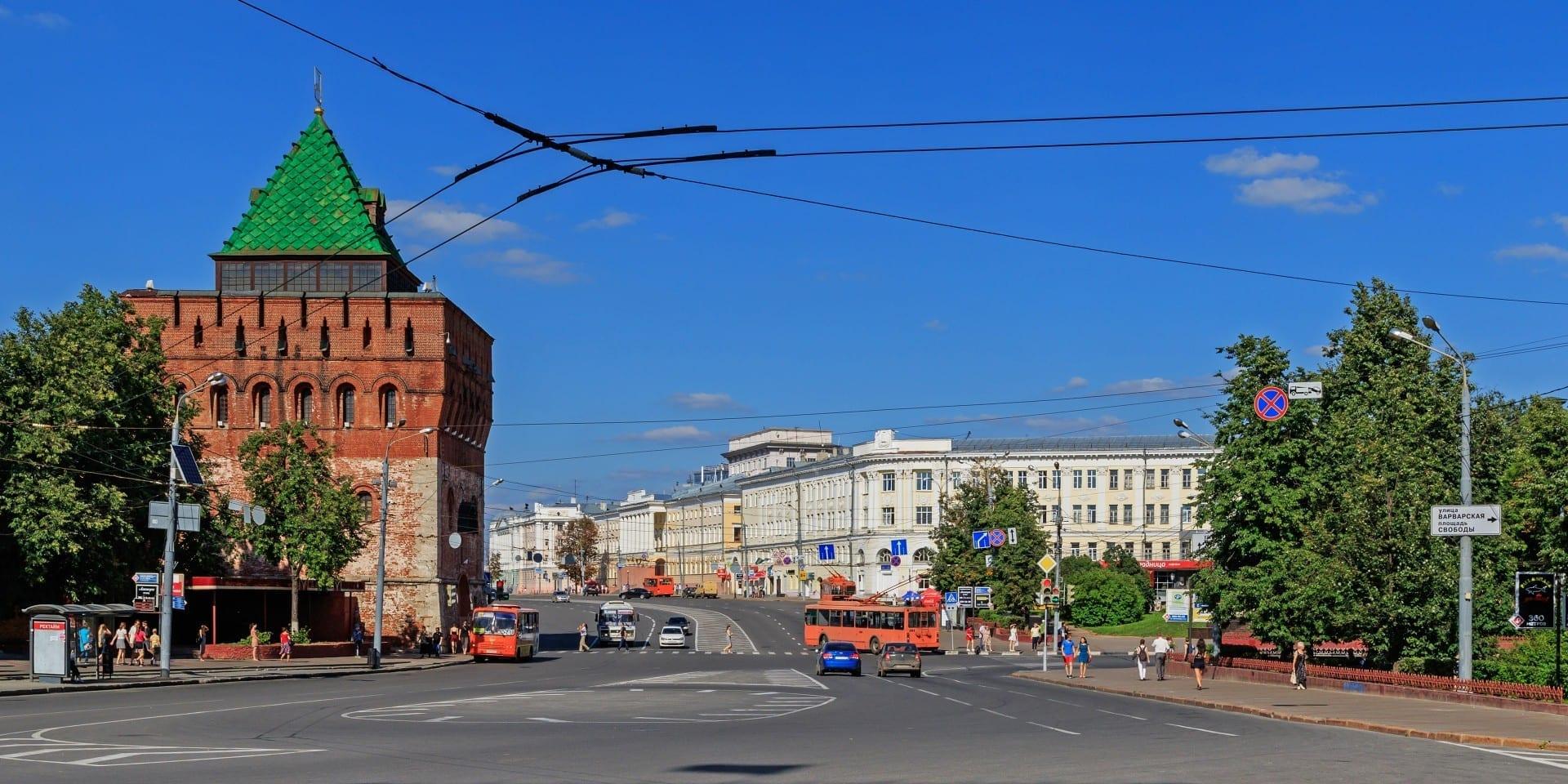 Minin y Pozarsky Square. Nizhny Novgorod Rusia