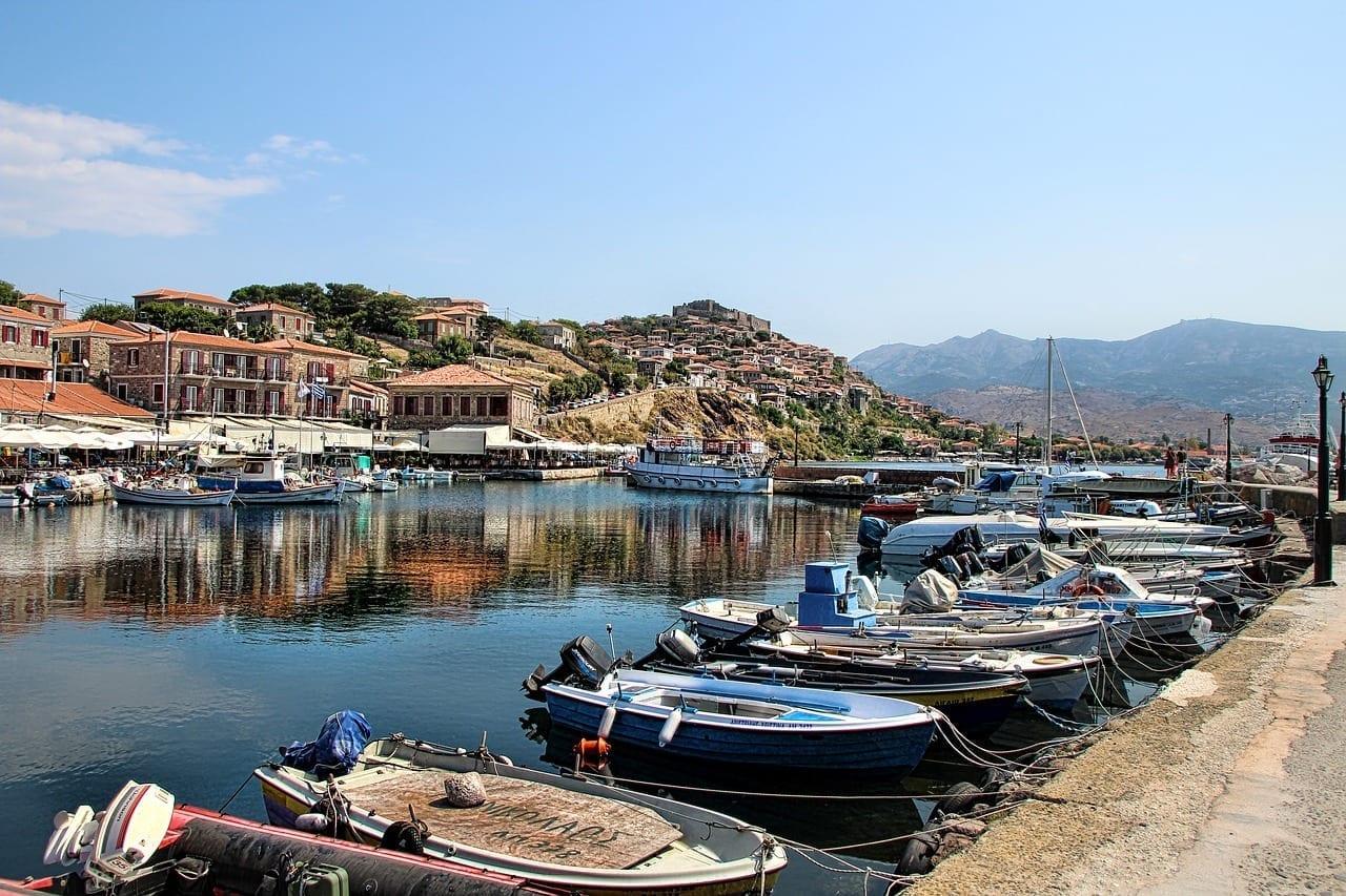 Molivos Lesbos Grecia Grecia