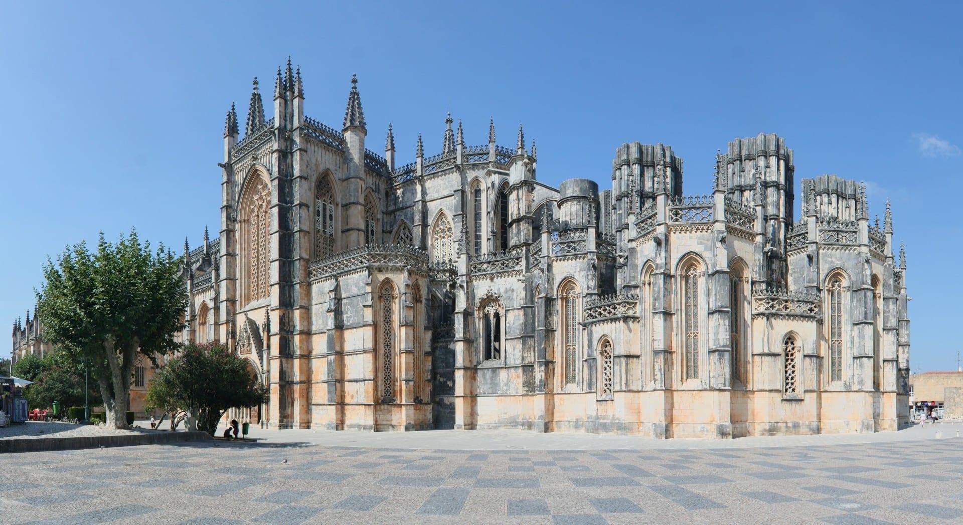 Monasterio de la batalla Batalha Portugal