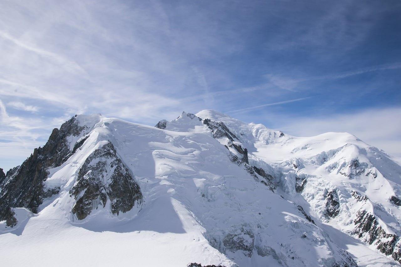 Mont Blanc Alpes Montaña Francia