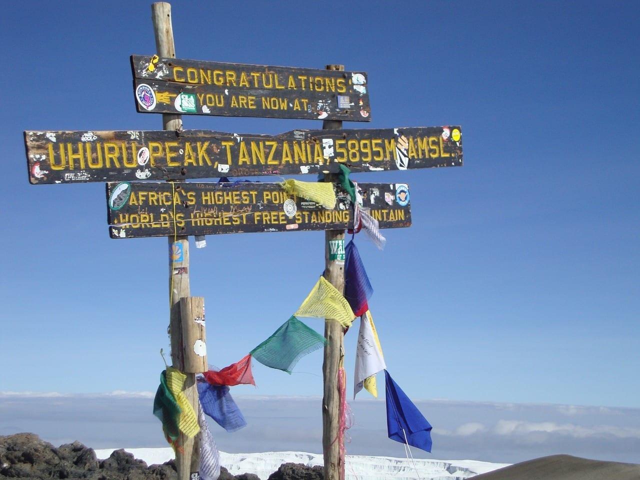 Montaña Kilimanjaro Kenya Tanzania