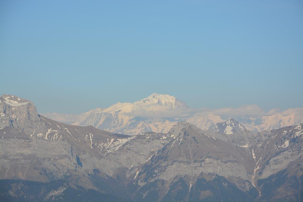 Montaña La Cadena Mont Blanc Francia