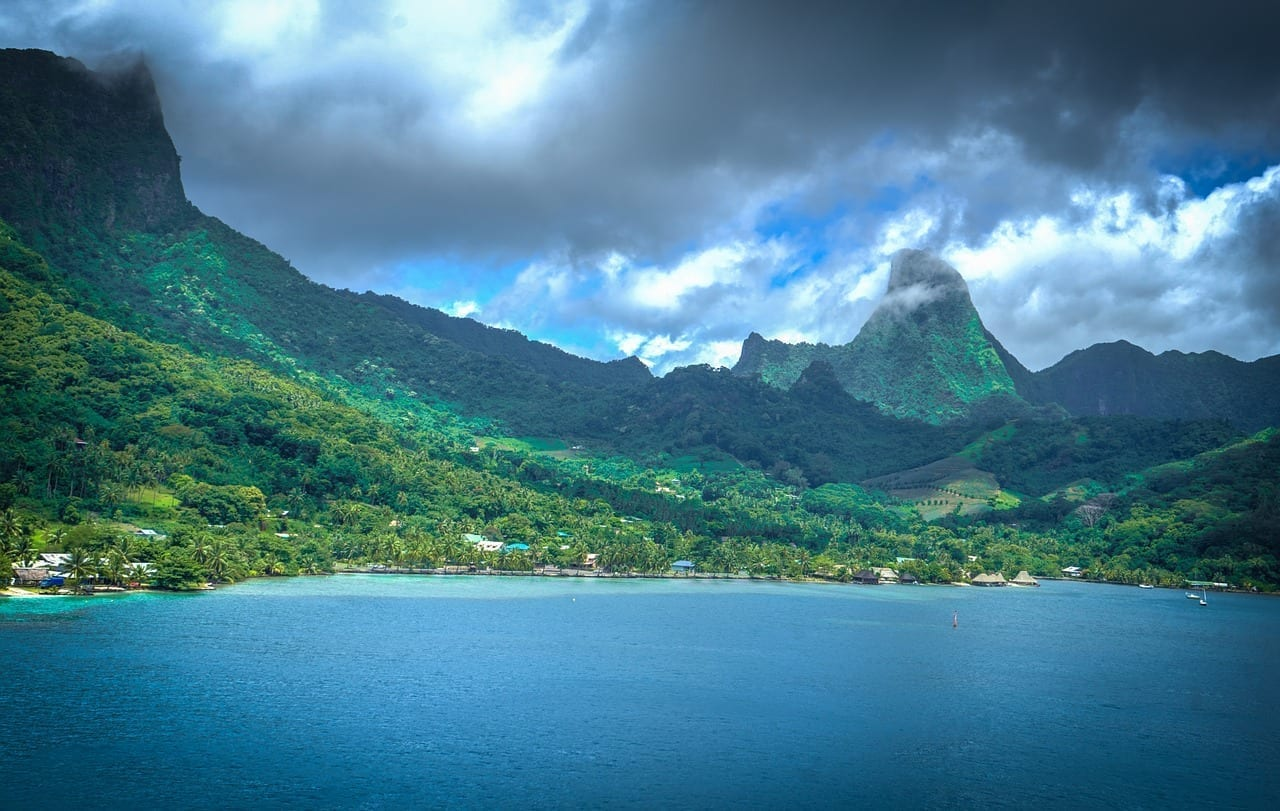 Moorea Francés Polinesia Polinesia Francesa