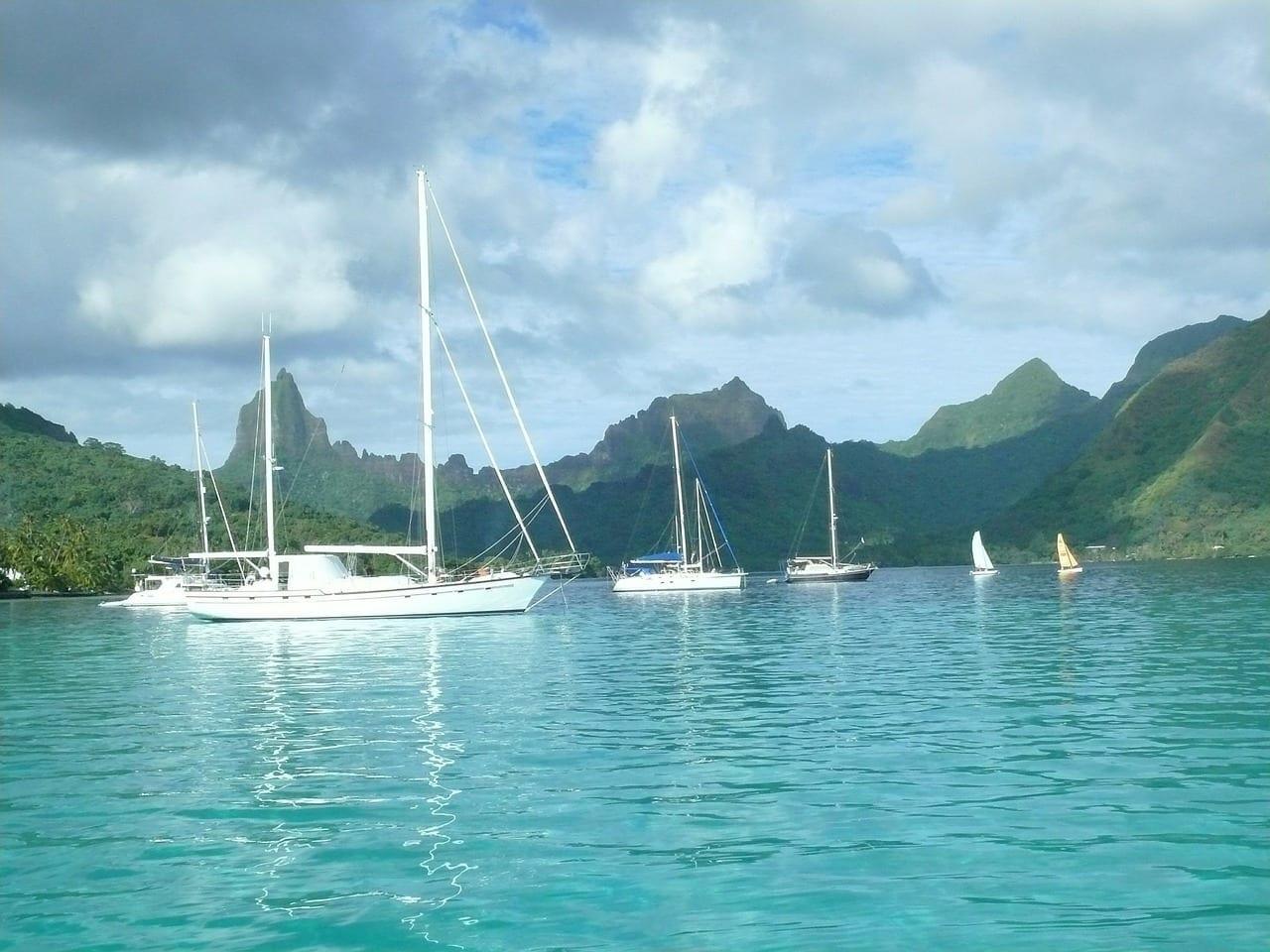 Moorea Tahití Vela Polinesia Francesa