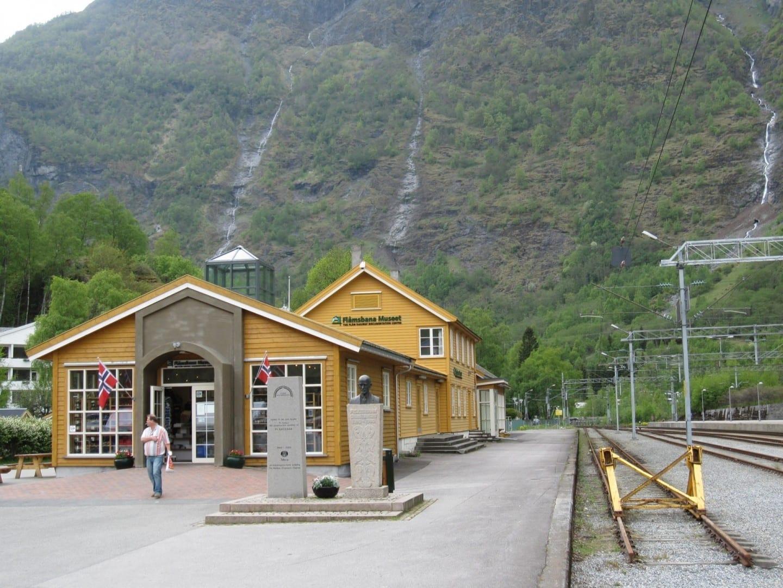 Museo de Flåmsbana Flam Noruega