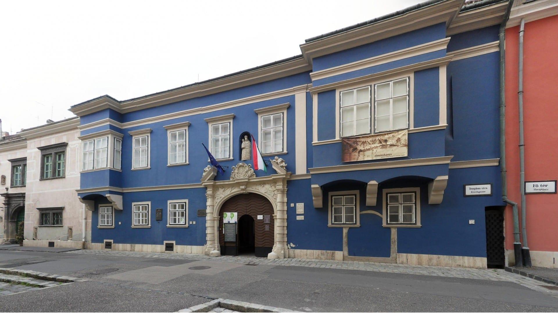 Museo de la Minería en el Palais Esterhazy Sopron Hungría