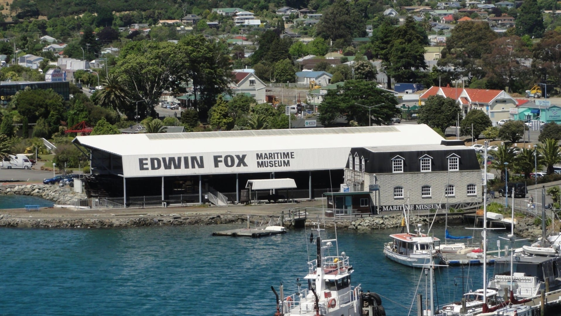 Museo Marítimo Picton Edwin Fox Picton Nueva Zelanda