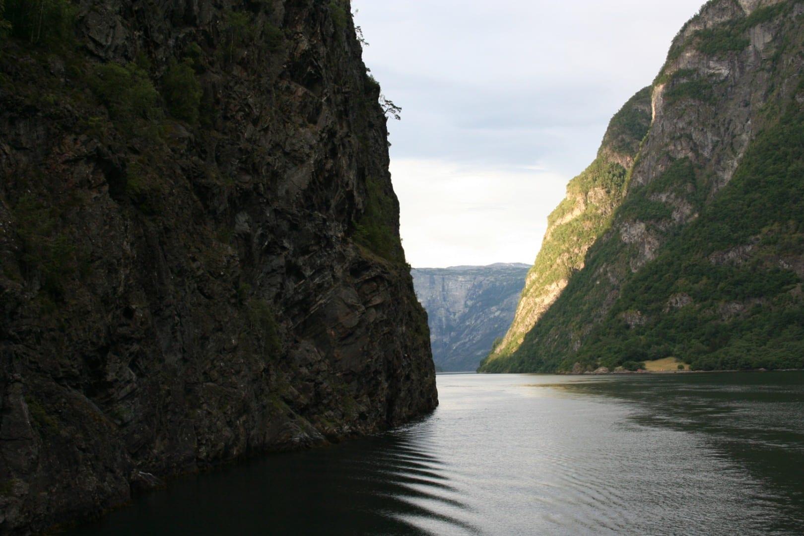 Nærøyfjord, un sitio de Patrimonio Mundial de la UNESCO Flam Noruega