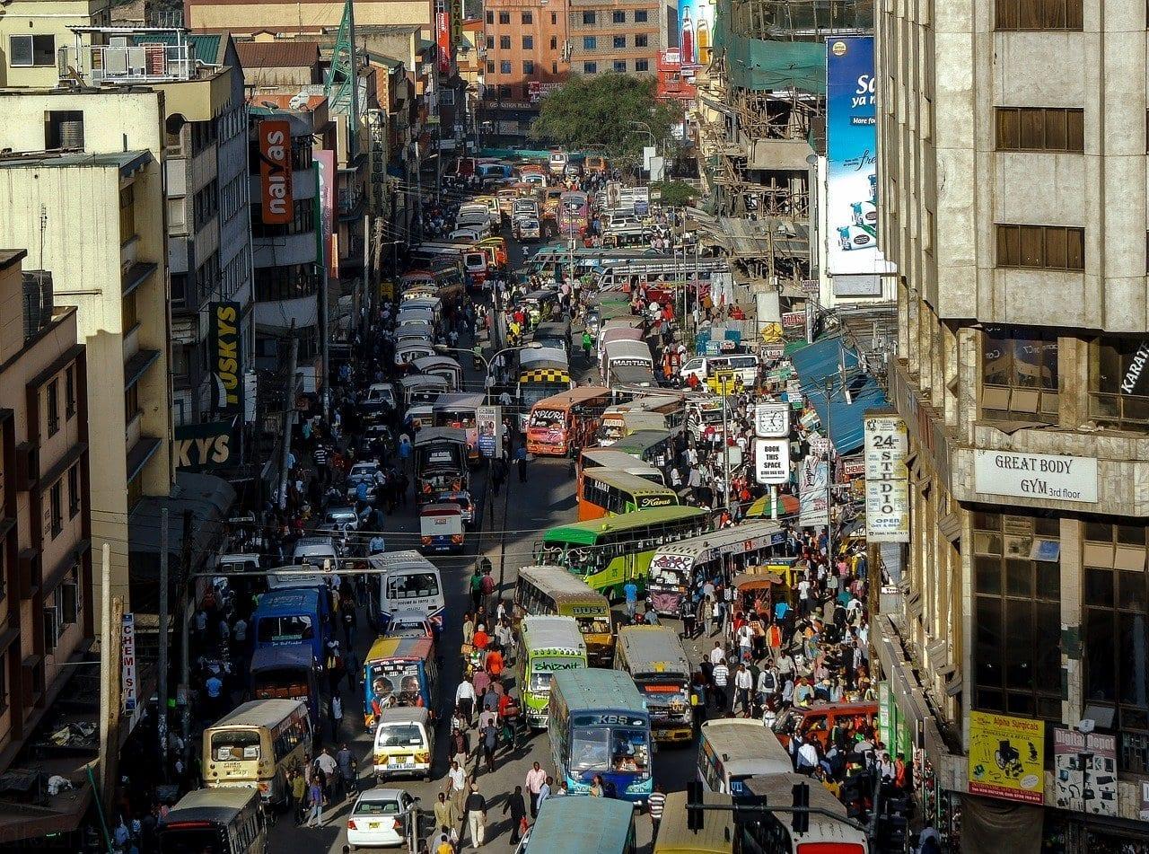 Nairobi Kenya Calles Kenia